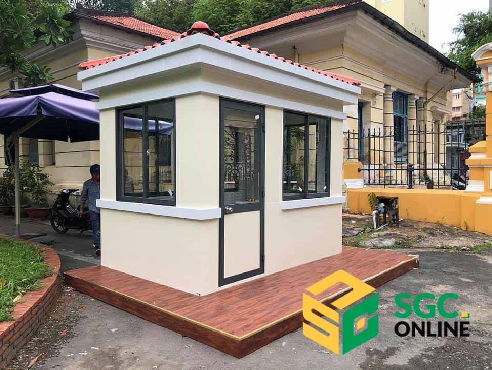 Nhà Bảo Vệ Mái Ngói SG101