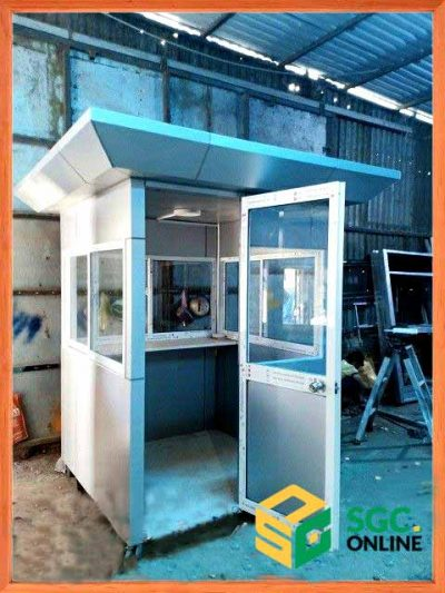 chốt bảo vệ khung thép tại Long AnSG01
