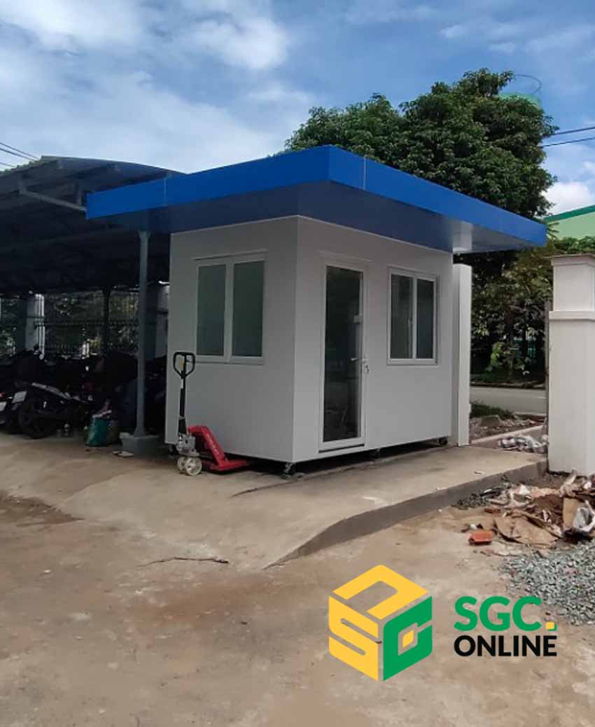 Cabin bảo vệ khung thép mái bằng SG201