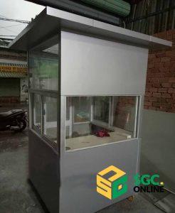 chốt bảo vệ hiện đại tại Tây Ninh