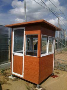Nhà bảo vệ mái bằng SG23