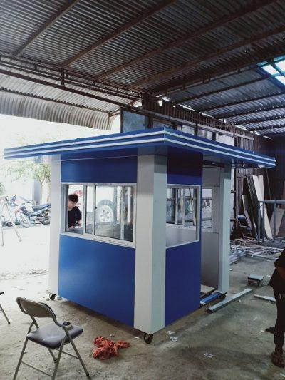 Cabin bảo vệ mái bằng SGC SG10