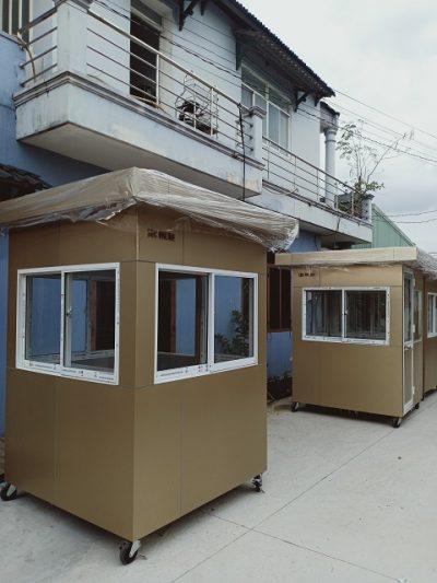 Cabin bảo vệ mái bằng SG13