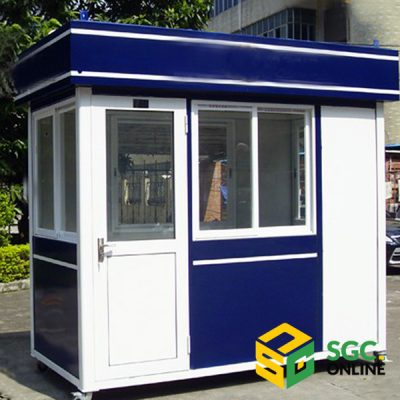 mẫu cabin bảo vệ cao cấp