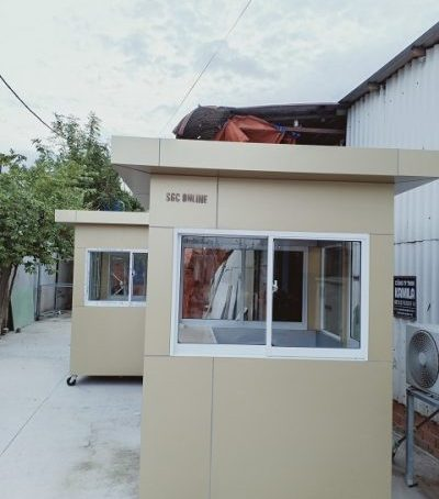 Mẫu cabin bảo vệ đẹp SG13