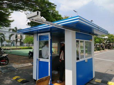 Cabin bảo vệ hiện đại tại TpHCM