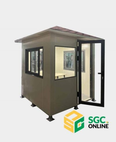cabin bảo vệ inox HCM